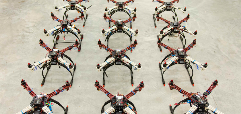 Ultra-fast, Autonomous, Reconfigurable UAV Disaster Communication System
