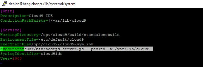 Cloud9 Service