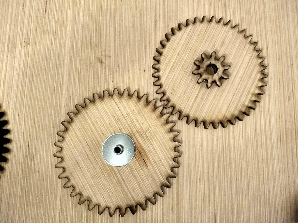 Assembled gears