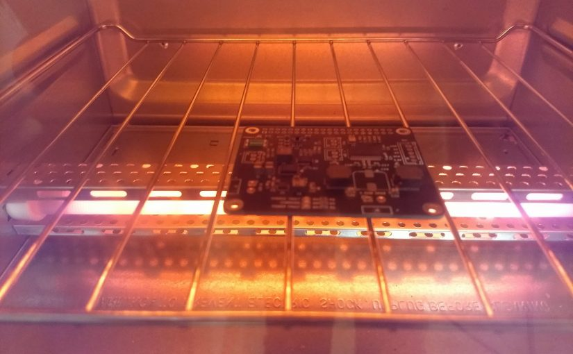Reflow Soldering in Unmodified Toaster Oven?